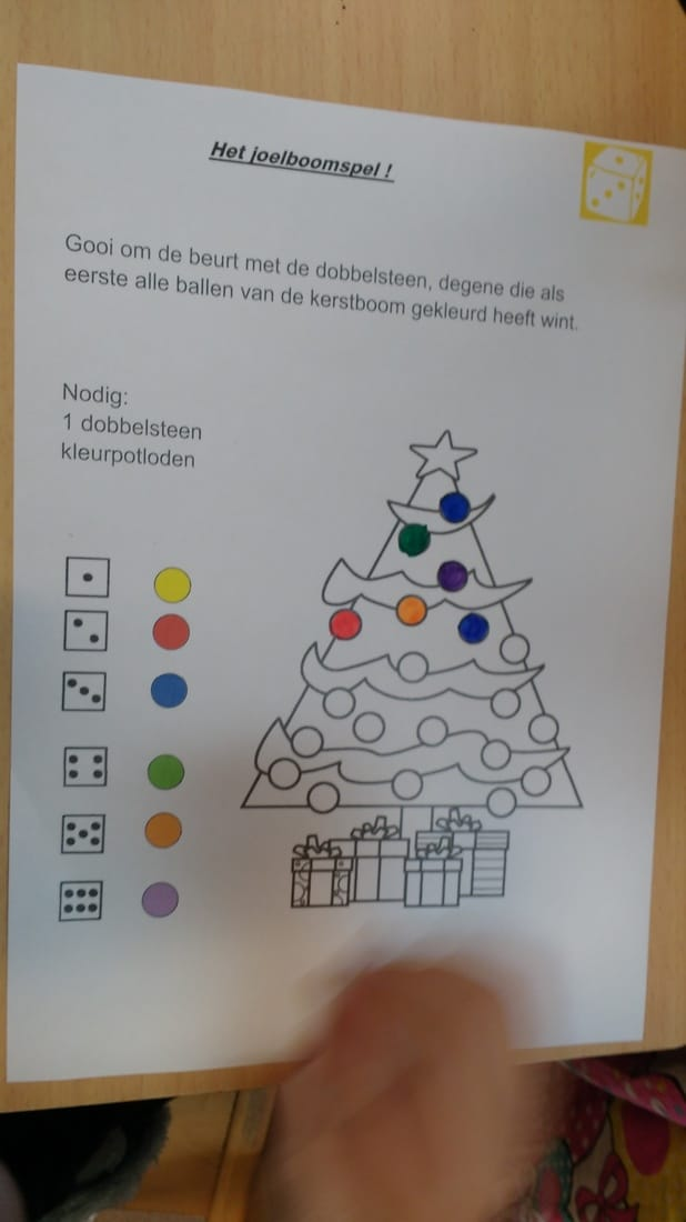 Dinsdag 20 December 2016 De Vossenklas